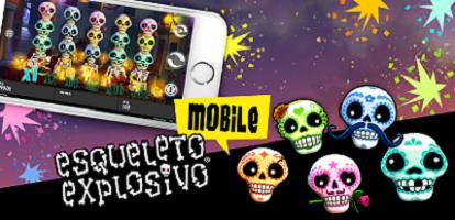 esqueleto explosivo mobiele slot